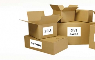 Sell Donate Give Boxes